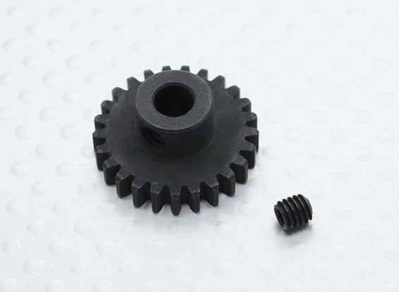 25T/5mm 32 Pitch Hardened Steel Pinion Gear