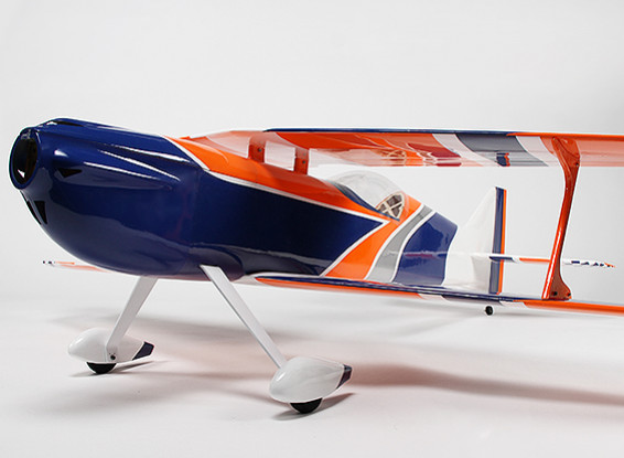 HobbyKing™ Mellizo 50e Aerobatic Biplane Balsa/Ply 1480mm (ARF)