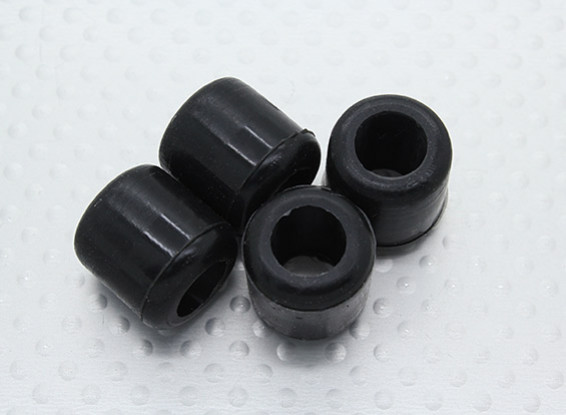 Assault 700 DFC - Rubber Landing Skid Nuts (4pcs)