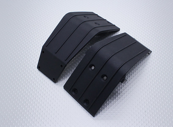 Front & Rear Bumper Supporting Plate - Nitro Circus Basher 1/8 Scale Monster Truck