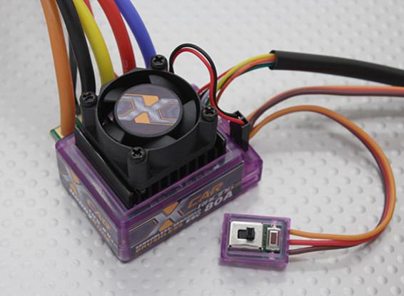 HobbyKing X-CAR 80A Brushless ESC (sensored/sensorless)