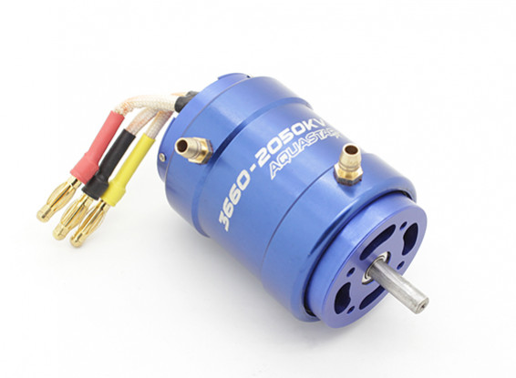 Turnigy AquaStar 3660-2050KV Water Cooled Brushless Motor