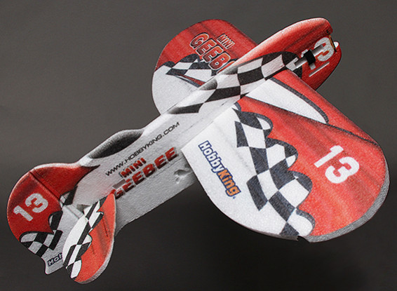 HobbyKing® ™ Mini-GeeBee 3D Aerobatic EPP Airplane w/Motor 700mm (ARF)