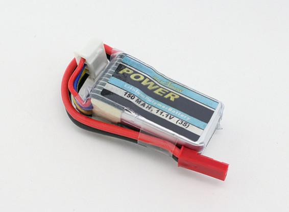 Blue Arrow Lipo pack 150mAh 3S 12C