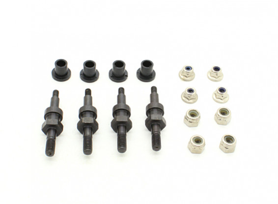 Fixing Holder (4set) - BSR 1/8 Rally
