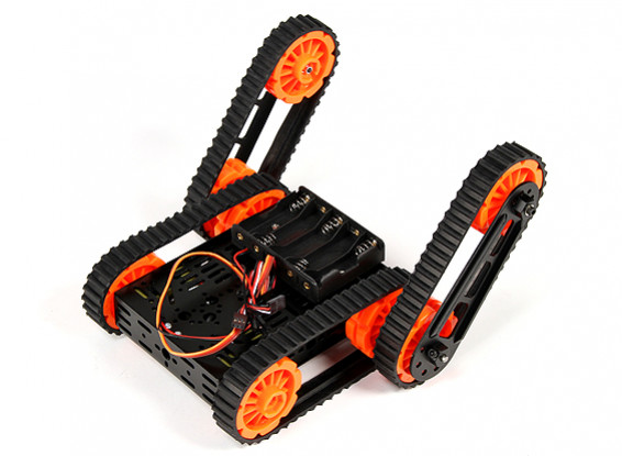DG012-RP (Rescue Platform) Multi Chassis Kit with Four Rubber Tracks