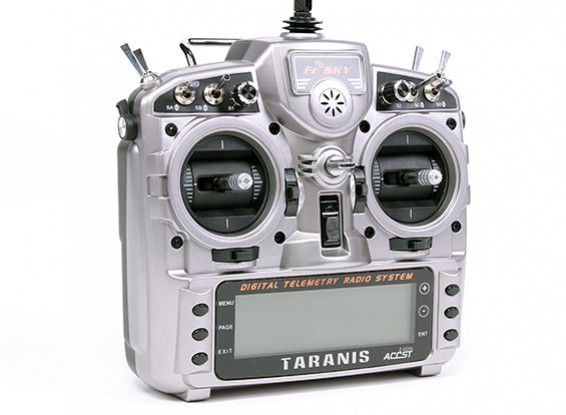 FrSky 2.4GHz ACCST TARANIS X9D and X8R Combo Digital Telemetry Radio System (Mode 1) New Battery