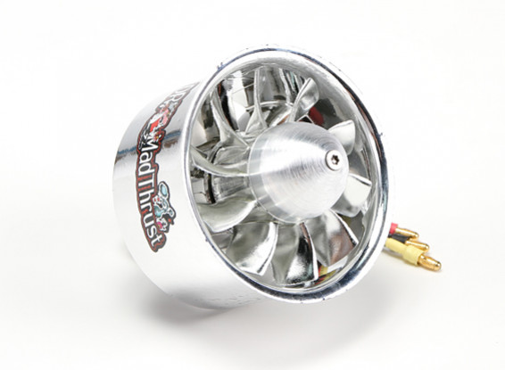 Dr. Mad Thrust 68mm 10 Blade EDF Electroplated Version 4000kv/4S