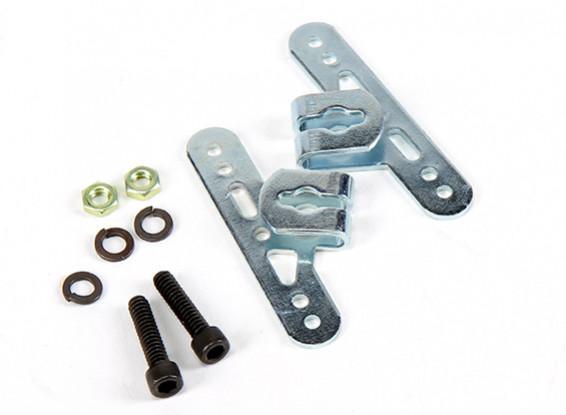 Sullivan 5/32inch Adjustable Wheel Pant Mounting Brackets (1 set)