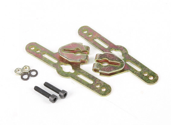 Sullivan 3/16inch Adjustable Wheel Pant Mounting Brackets (1 set)