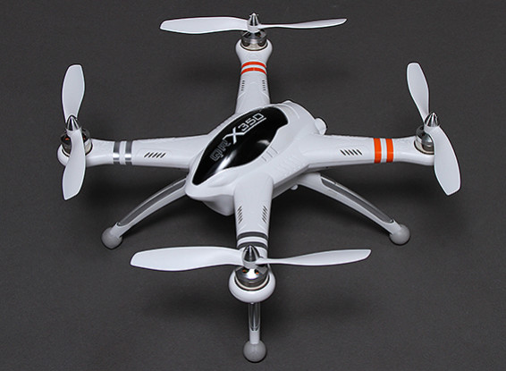 Walkera QR X350 GPS Quadcopter with Return to Home and DEVO 7 (No Battery/Charger) (Mode 1) (RTF)