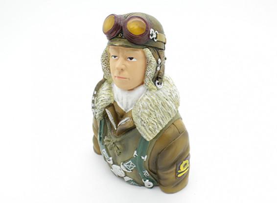 World War 2 Japanese Pilot (H115 x W79 x D47mm)