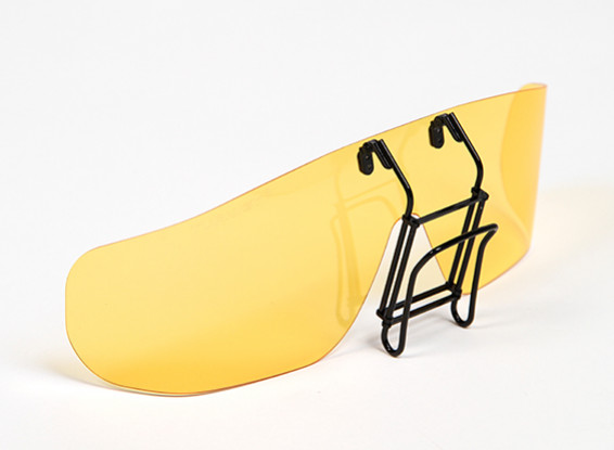 Turnigy Clip-on Polarized Sunglasses (Yellow)