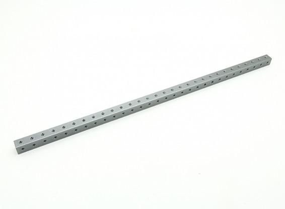 RotorBits Pre-Drilled Anodized Aluminum Construction Profile 300mm (Gray)