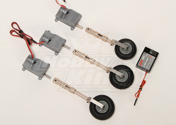 Digital Servoless Adjustable Landing Gear set (Upgrade Metal version)