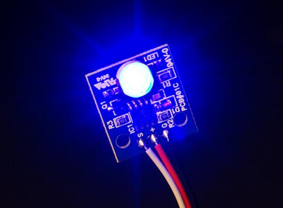 Hobbyking LED PCB Strobe Ball (12V) Blue