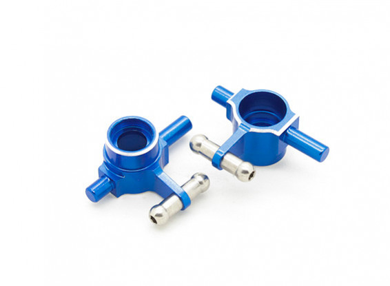 Aluminum Alloy Front Steering Hub Carriers - Turnigy TZ4 AWD (2pc)