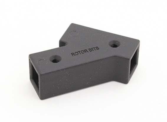 RotorBits 45 Degree Connector (Black)
