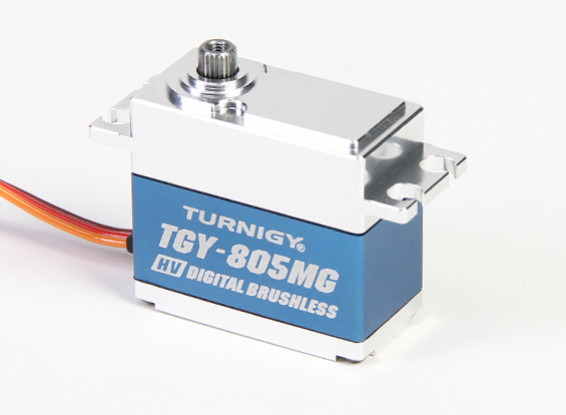 Turnigy™ TGY-BLS805MG HV/DS/MG Servo w/Alloy Case (760us PWM) 7.5kg / 0.039sec / 68g