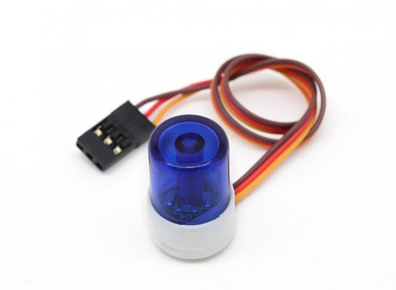 Police Car Style LED Light Beacon (Blue)