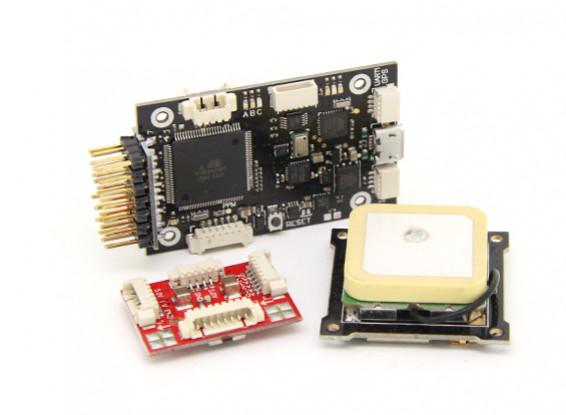 HobbyKing HKPilot Mega Mini Combo Flight Controller GPS and Power Module