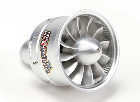 Dr. Mad Thrust 90mm 12 Blade Alloy EDF w/Metal Rotor 1300kv - 3300w (8S)