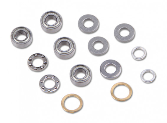 Walkera G400 GPS Helicopter - Replacement Main Blade Grip Bearing Set