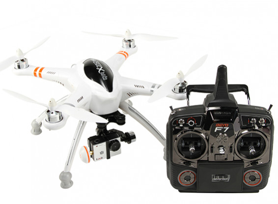 Walkera QR X350 PRO FPV GPS RC Quadcopter G-2D Gimbal, iLook  Camera,DEVO F7 (Mode 2) (Ready to Fly)