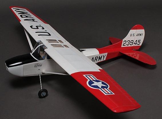 L-19 Bird Dog High Wing Balsa 1250mm (ARF)