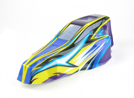 Painted Body - BSR Racing BZ-222 1/10 2WD Racing