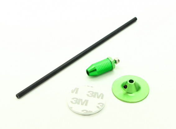 Mini GPS Folding Antenna Base Set/Green