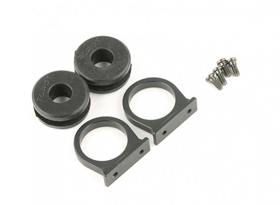 Tarot T810 and T960 Metal 12mm Tube Mount w/Silicone Dampener