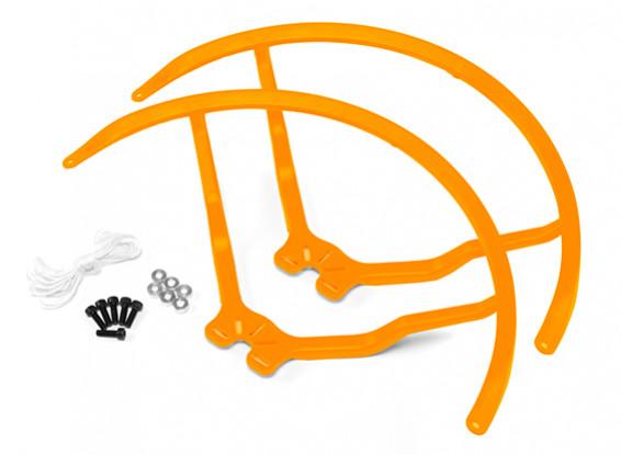9 Inch Plastic Universal Multi-Rotor Propeller Guard - Yellow (2set)