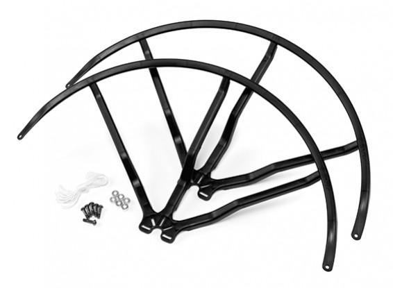 10 Inch Plastic Universal Multi-Rotor Propeller Guard - Black (2set)