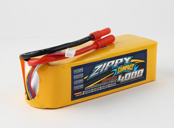ZIPPY Compact 4000mAh 6s 40c Lipo Pack