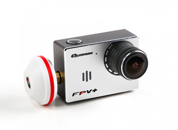 Quanum FPVplus Wide-Angle 1080P HD FPV Camera with 5.8GHz Transmitter