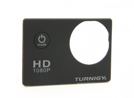 Turnigy ActionCam Replacement Faceplate - Black
