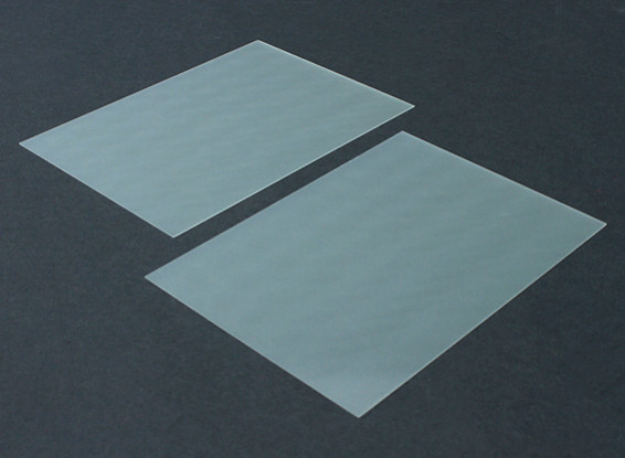 FR4 Epoxy Glass Sheet 210 x 148 x 0.5mm (2pc)