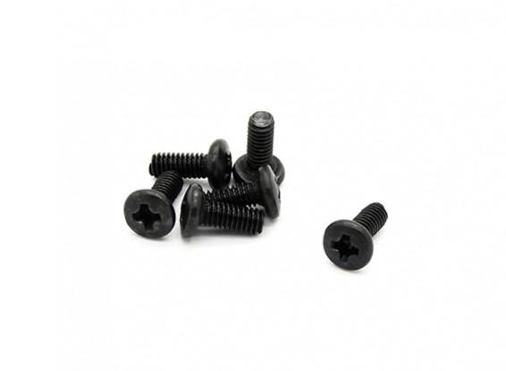 Button Head Screws 2.5 x 6mm - Basher PBull 1/18 4WD Desert Buggy (6pcs)