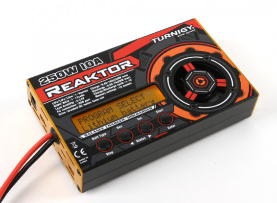 Turnigy Reaktor 250W 10A 1-6S Balance Charger