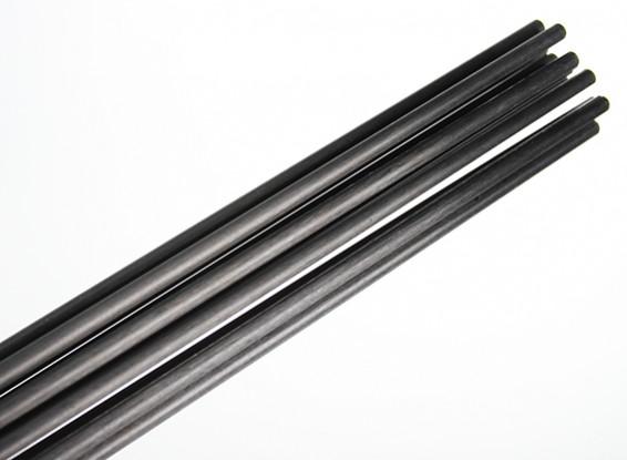 Carbon Fiber Rod (solid) 1x750mm
