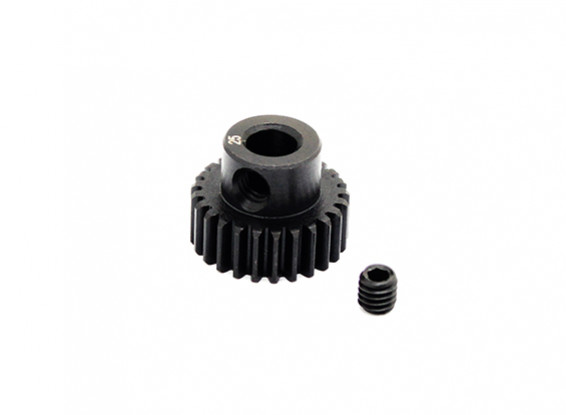 Hobbyking™ 0.6M Hardened Steel Helicopter Pinion Gear 5mm Shaft - 25T