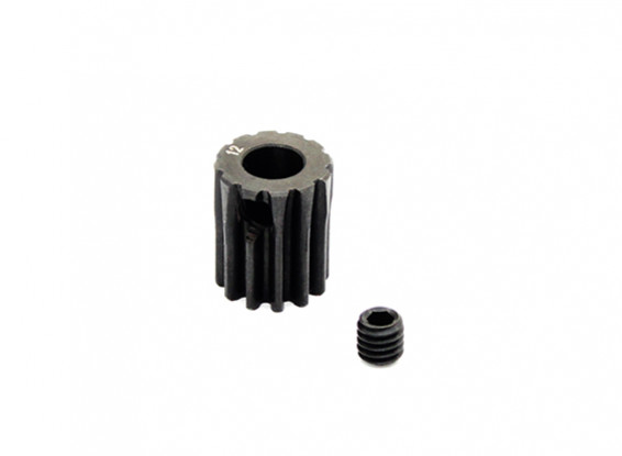 Hobbyking™ 0.7M Hardened Steel Helicopter Pinion Gear 5mm Shaft - 12T