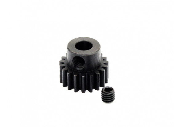 Hobbyking™ 0.7M Hardened Steel Helicopter Pinion Gear 5mm Shaft - 19T