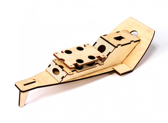 Hobbyking™ Super-G Autogyro - Plywood FPV Tray