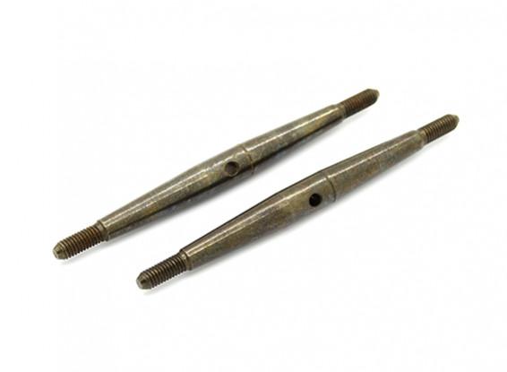 TrackStar 1/10 Spring Steel Turnbuckle M3x60 (2pcs)