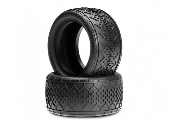 JCONCEPTS Bar Codes V2 1/10th Buggy Rear Tyres - Blue (Soft) Compound