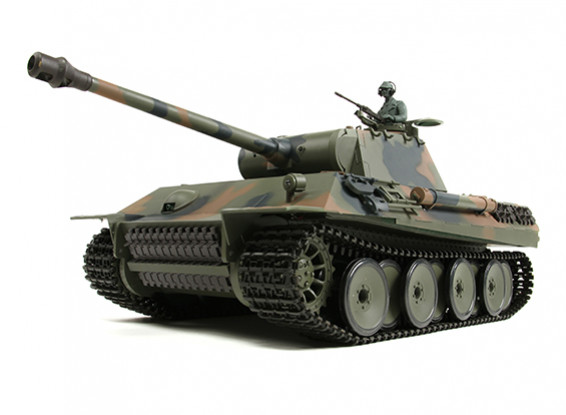 German PzKw V (Panther) RC Tank RTR w/ Airsoft & Tx (US plug)