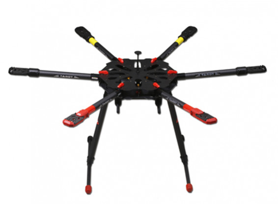 Tarot X6 Heavy Lift Hexacopter Frame TL6X001