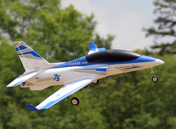 H-King Tornado Viper Jet 75mm 6S EDF Sports 1100mm (PNF)